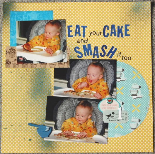 Eat Your Cake and Smash It Too!