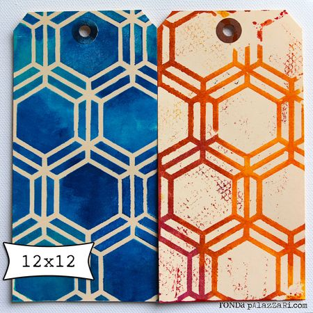Honeycomb sample tags